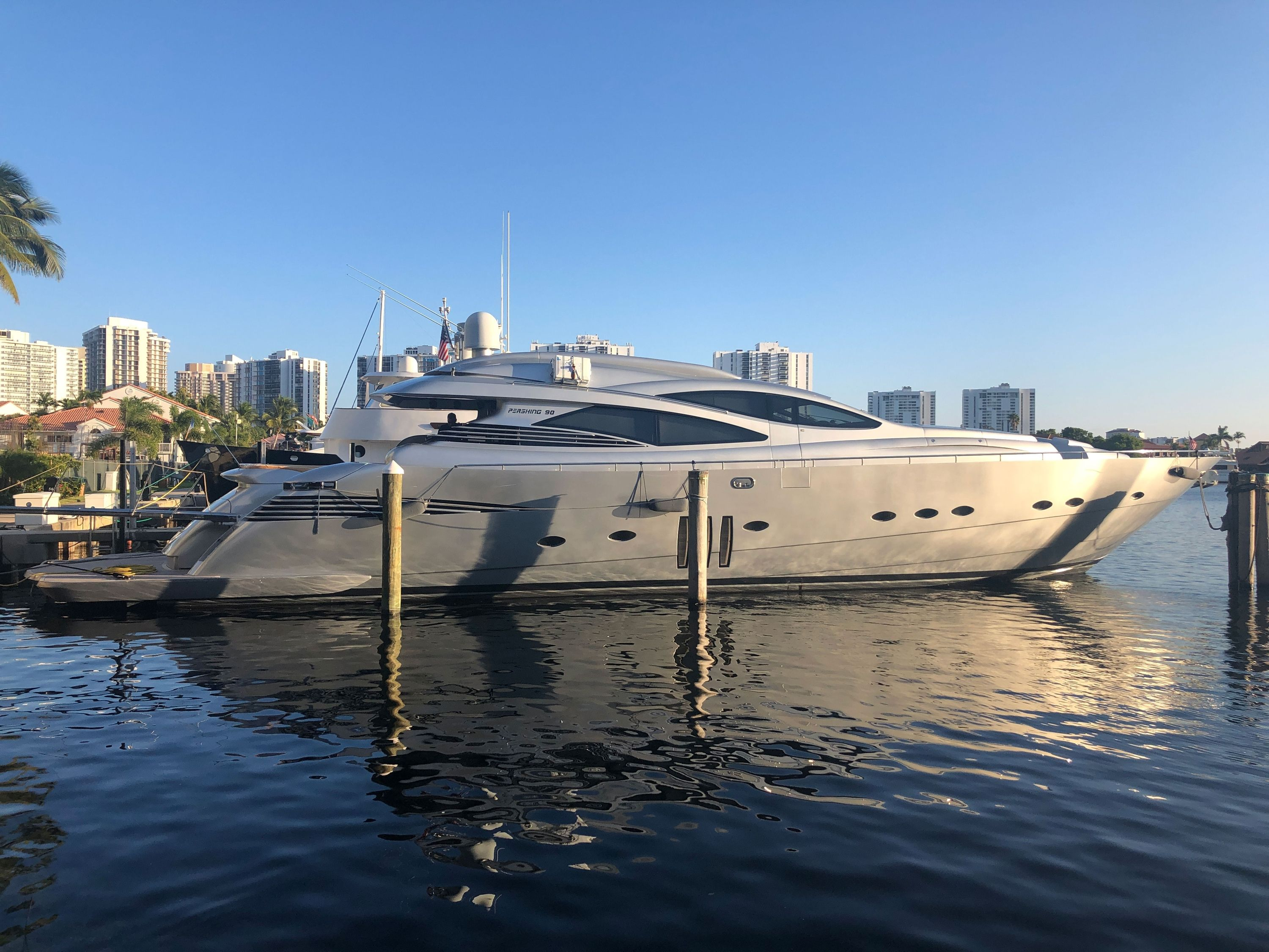Pershing 90` - Day Charter - Miami - Ft Lauderdale