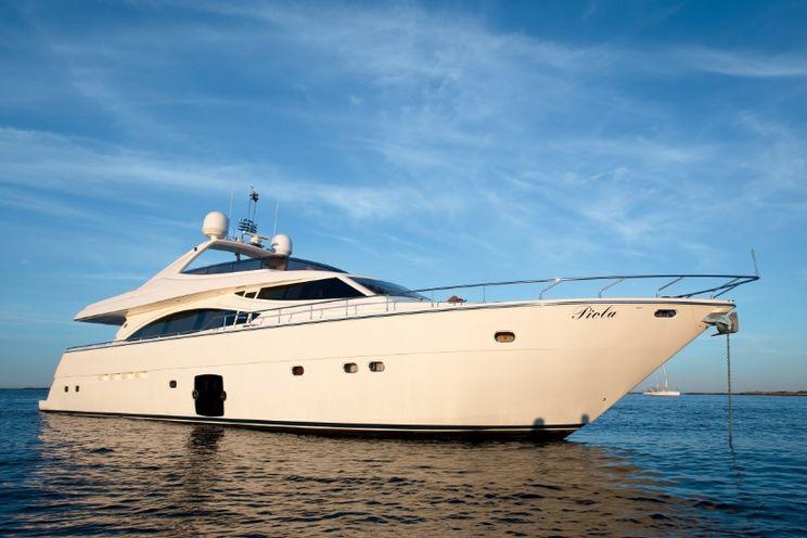 Charter Yacht PIOLA - Ferretti 830 - 4 Cabins - Athens - Mykonos - Greece