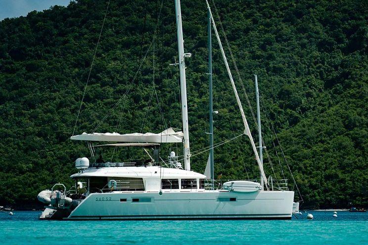 Charter Yacht PLAYTIME - Lagoon 560 - 4 Cabins - BVI - British Virgin Islands - Tortola - Virgin Gorda - Norman Island - Anegada