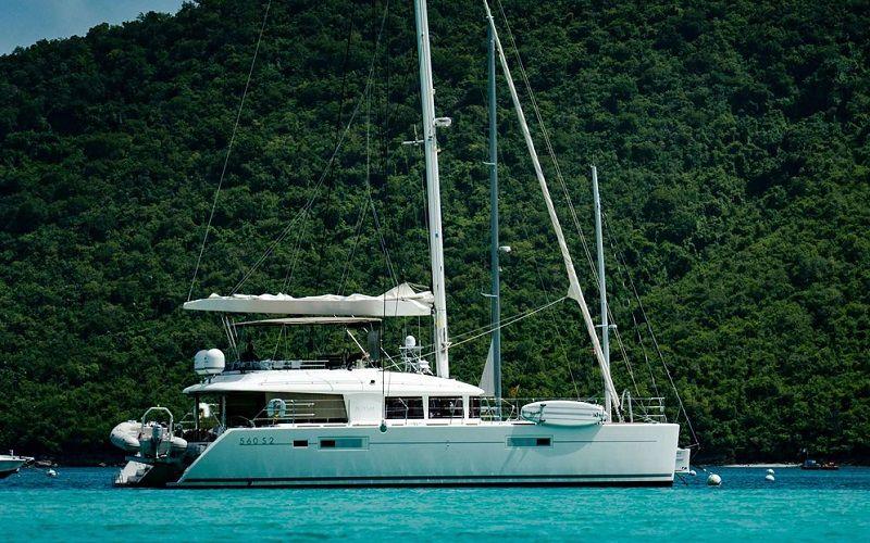 PLAYTIME - Lagoon 560 - 4 Cabins - BVI - British Virgin Islands - Tortola - Virgin Gorda - Norman Island - Anegada