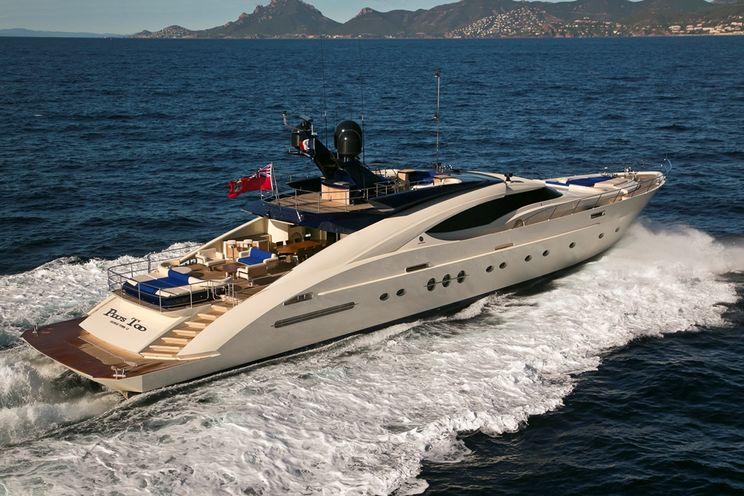Charter Yacht PLUS TOO - Palmer Johnson PJ 135 - 5 Cabins - Golfe Juan - Cannes - Antibes - Monaco