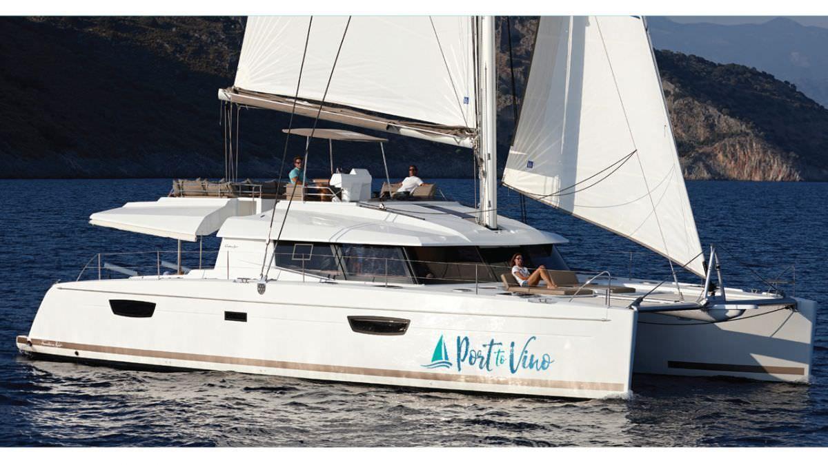 PORT TO VINO - Fountaine Pajot Ipanema 58 - 4 Cabins - BVI - Tortola - Virgin Gorda - St Thomas