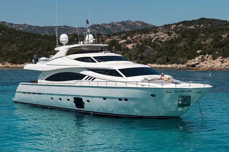 Charter Yacht PORTHOS SANS ABRI - Ferretti 881 - 4 Cabins - Sardinia - Poltu Quatu - Porto Cervo - Bonifacio