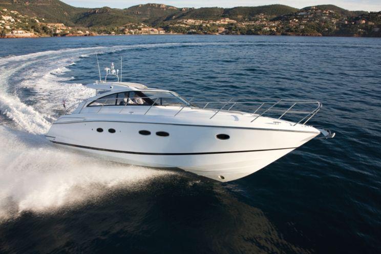 Charter Yacht POSEIDON VII - Princess V45 - 2 Cabins - Corsica - Ajaccio - Sardinia