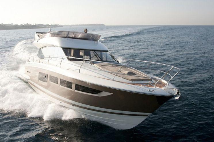 Charter Yacht Prestige 500 Fly - 3 Cabins - Cannigione - Porto Cervo - Portisco - Sardinia - Bonifacio - Corsica