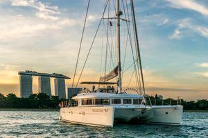 PRIMETIME - Lagoon 620 - 4 Cabins (4 double) Singapore - East Malaysia - Anambas Archipelago - Philippines