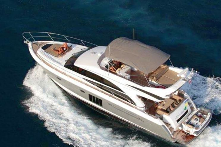 Charter Yacht Princess 60 - Day Charter for 14 Guests or 3 Cabins Live Aboard - Phuket,Thailand