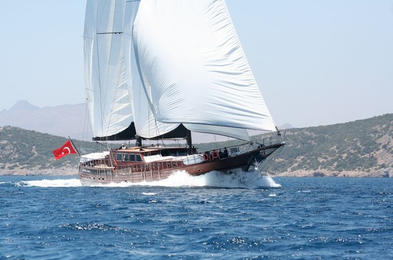 PRINCESS KARIA II - Sevil 34m Gulet - 6 Cabins - Gocek - Antalya - Bodrum