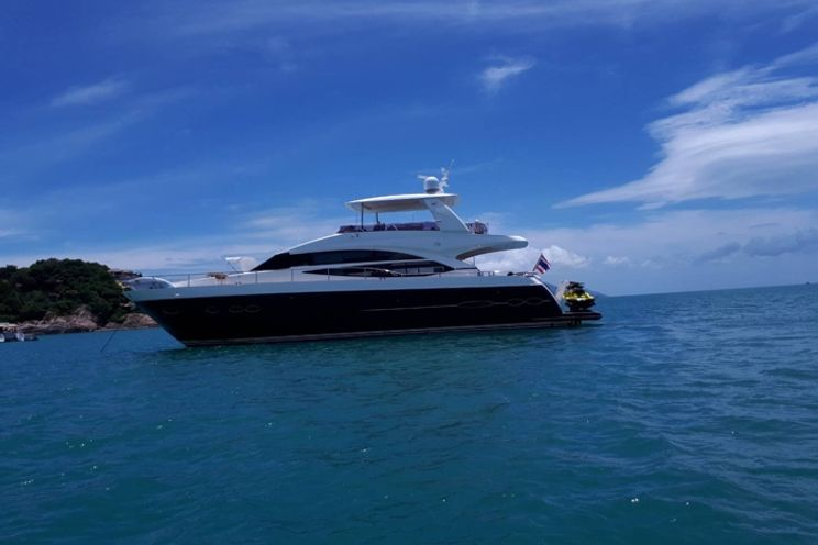 Charter Yacht Princess 72 - Day Charter 18 Guests - 4 Cabins Liveaboard - Pattaya, Thailand