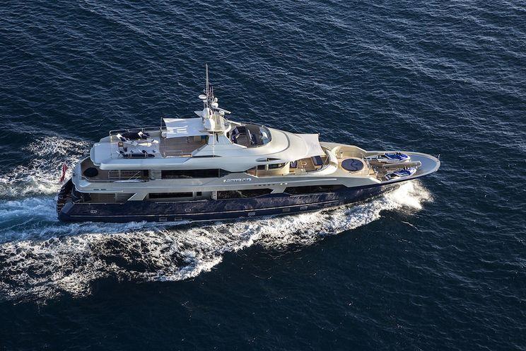 Charter Yacht PRINCESS ILUKA - Ray Kemp 34m - 5 Cabins - St Tropez - Cannes - Monaco - Porto Cervo - San Remo