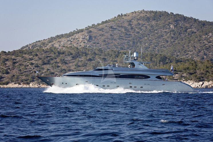 Charter Yacht PRINCESS L - Maiora 108 - 5 Cabins - Athens - Mykonos - Naxos