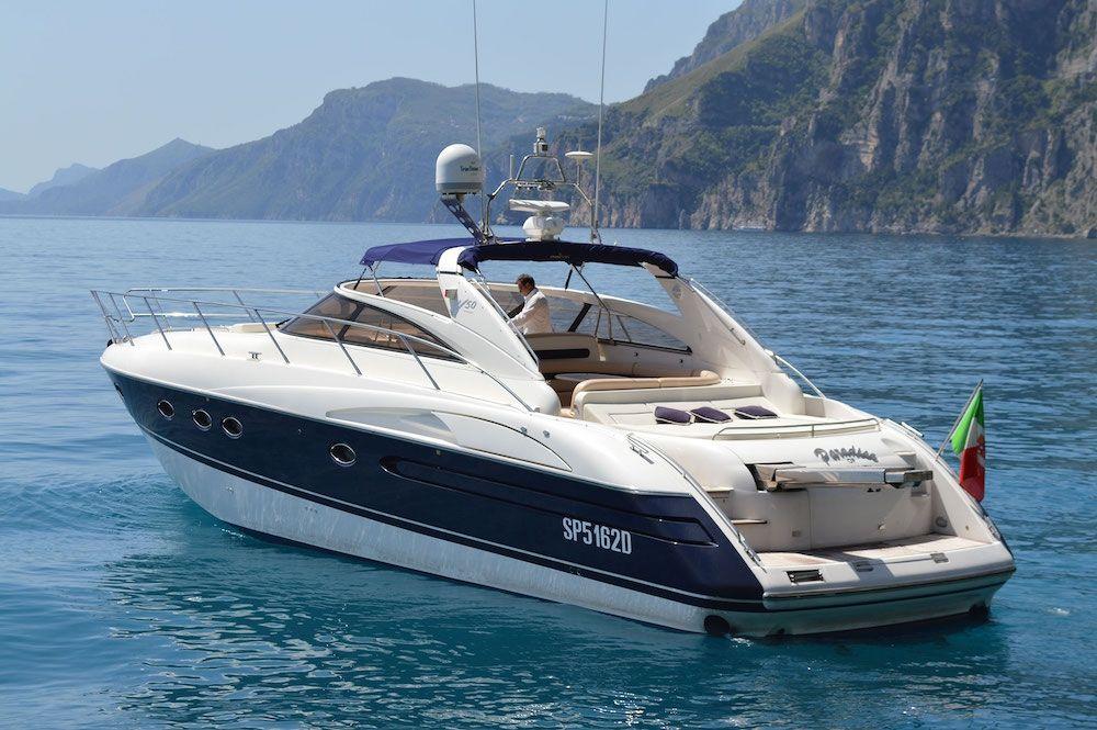 OPEN SPACE - Princess V50 - 2 Cabins - Amalfi Coast - Sorrento - Positano - Capri