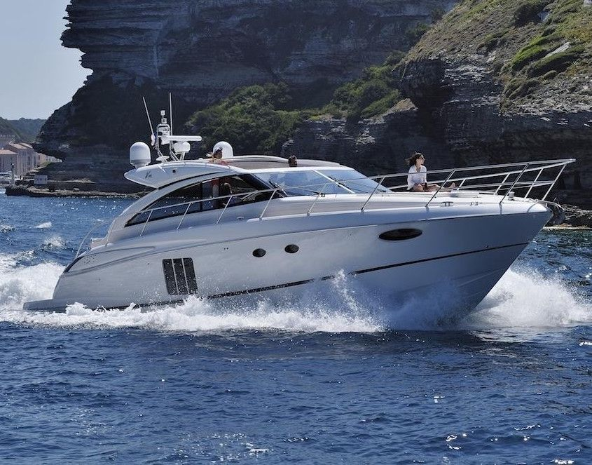 Princess V56 - Cannes Day Charter Yacht - Juan Les Pins - Cannes - Antibes