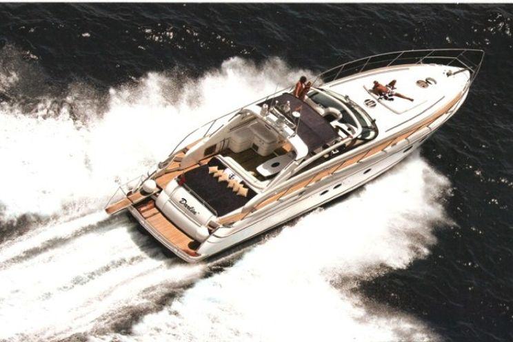 Charter Yacht Princess V58 - 3 Cabins - St Tropez - Hyeres