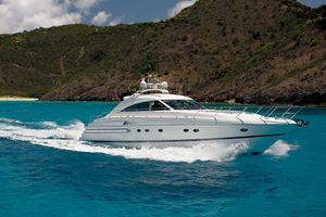Princess V65 - Day Charter - St Barths - Anguilla