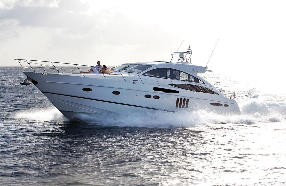 Princess V70 - Day Charter - St Barths - Anguilla