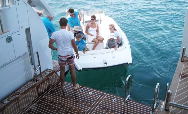 QUARANTA Curvelle 34m Luxury Superyacht Tender