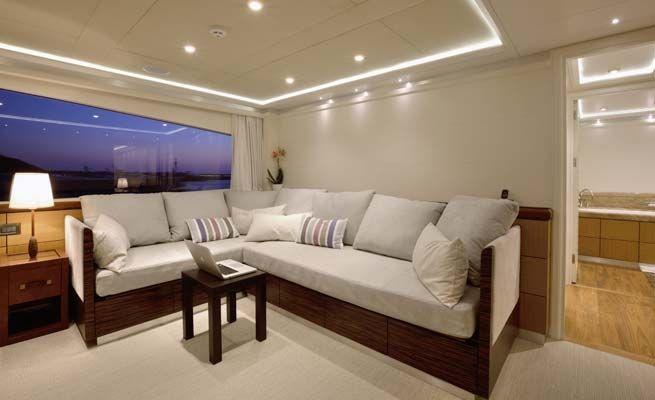 QUARANTA Curvelle 34m Luxury Superyacht Salon