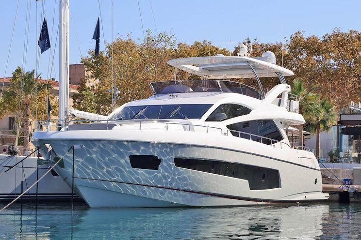 Charter Yacht RAOUL W - Sunseeker 75 Yacht - 4 Cabins - Palma de Mallorca - Ibiza - Formentera - Balearics