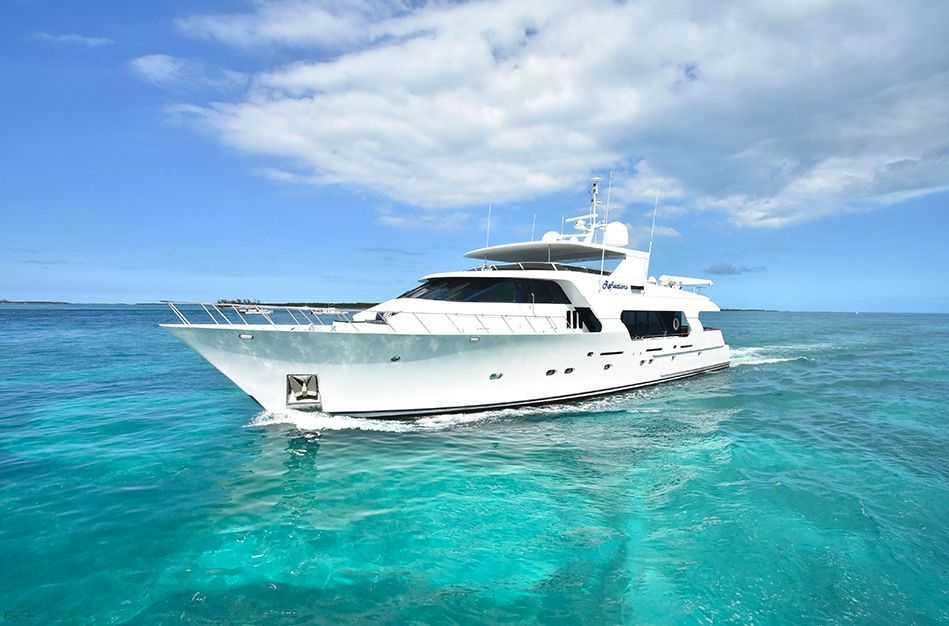 REFLECTIONS - Christensen 32m - 4 Cabins - Florida Keys - Ft Lauderdale - Nassau