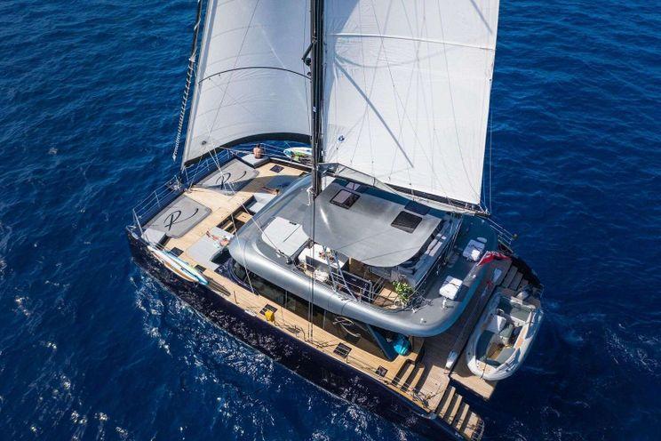 Charter Yacht RELENTLESS - Sunreef 60 - 4 Cabins - Virgin Islands - St Thomas - Tortola - Virgin Gorda - St John