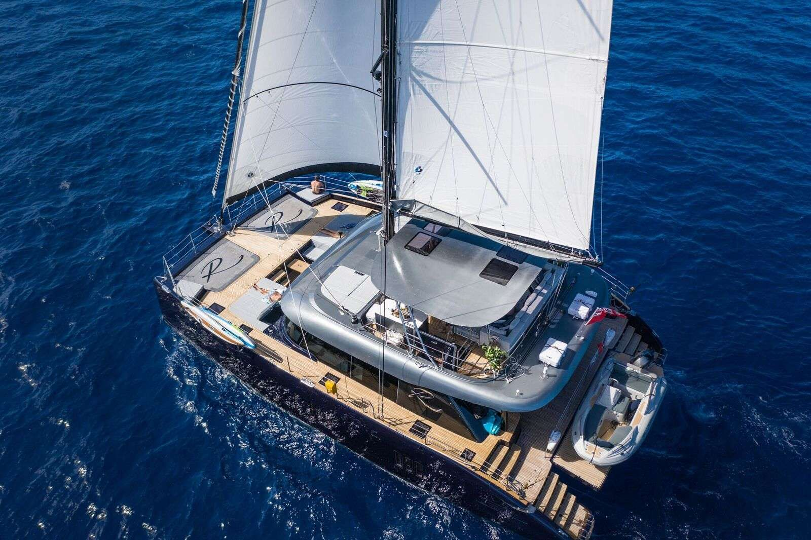 RELENTLESS - Sunreef 60 - 4 Cabins - Virgin Islands - St Thomas - Tortola - Virgin Gorda - St John