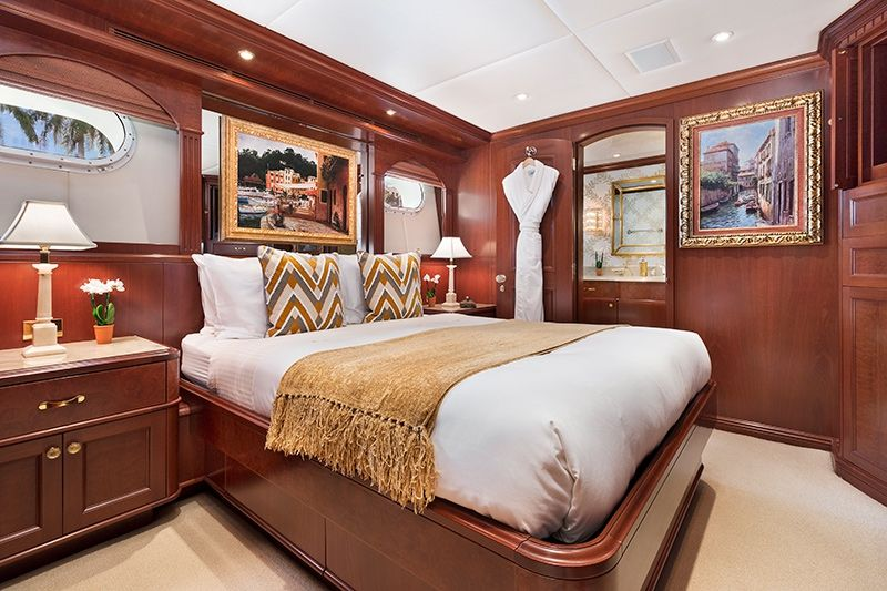 RELENTLESS Trinity 145 Luxury Superyacht VIP Cabin