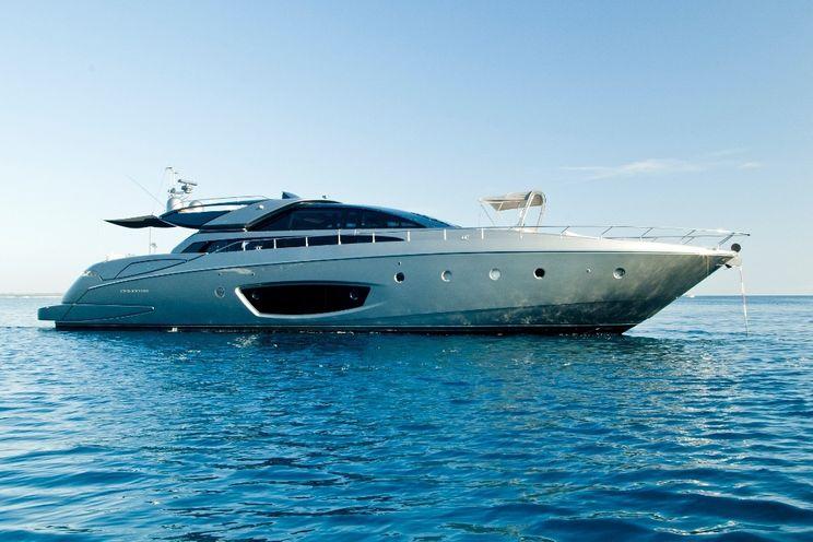 Charter Yacht RHINO A - Riva Domino 86 - 4 Cabins - Cannes - Antibes - St Tropez - Amalfi Coast