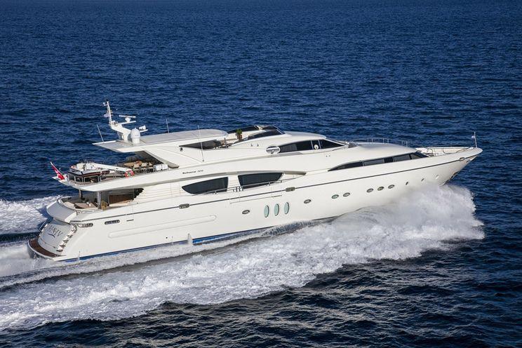 Charter Yacht RINI V - Technema 120 - 6 Cabins - Greece - Athens - Mykonos - Milos - Hydra - Spetses