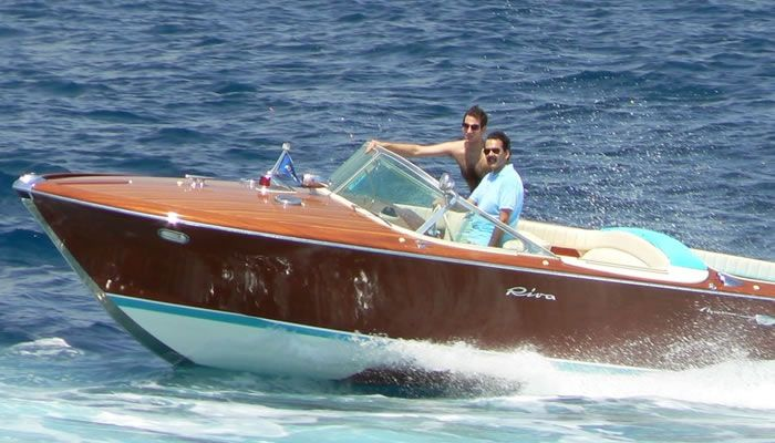 Riva Aquarama - Cannes Day Charter