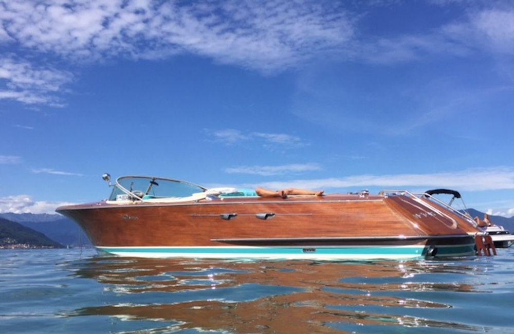 Riva Aquarama Special - Day Charter - Lake Maggiore, Italy