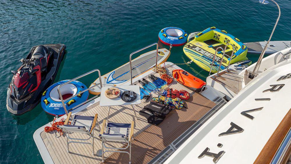 RIVA Benetti 120 Classic Swim Platform