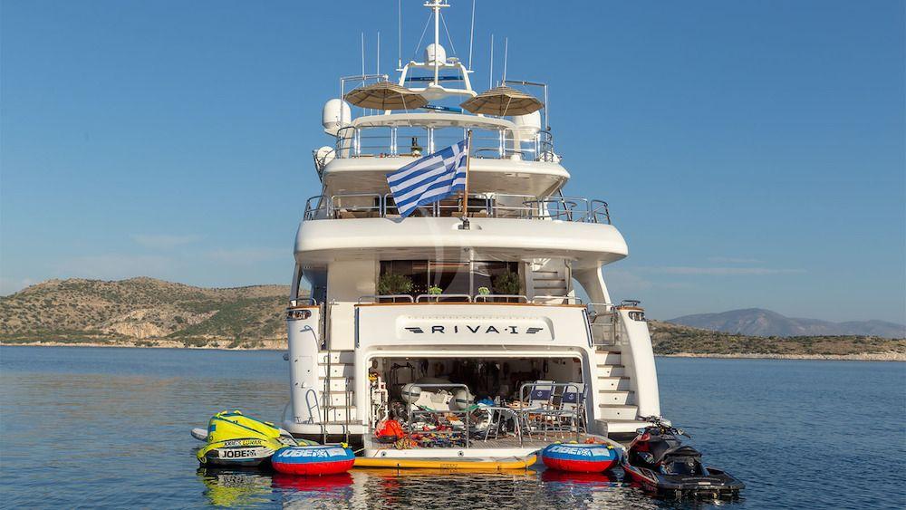 RIVA Benetti 120 Classic Anchor