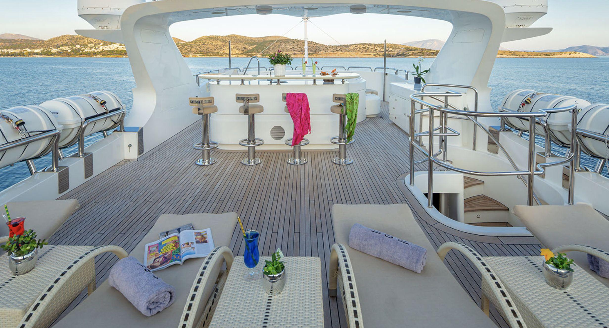 RIVA Benetti 120 Classic Deck