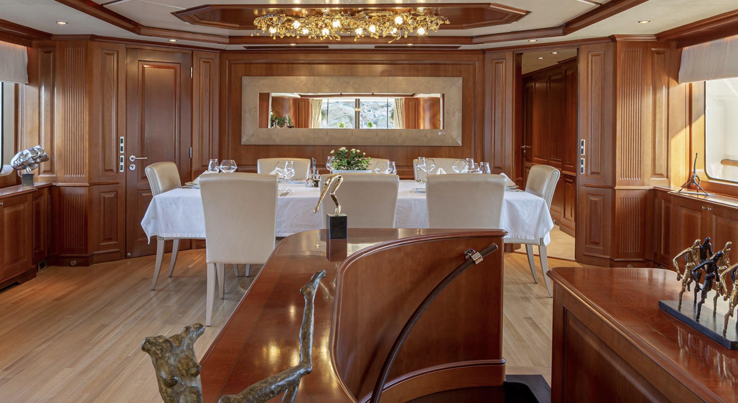 RIVA Benetti 120 Classic Dining