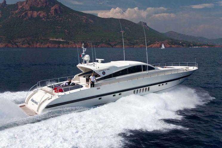 Charter Yacht ROMACHRIS II - Leopard 27m - 4 Cabins - Athens - Kos - Lefkas - Mykonos