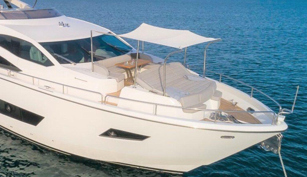 RUSH X, Sunseeker 86 Yacht