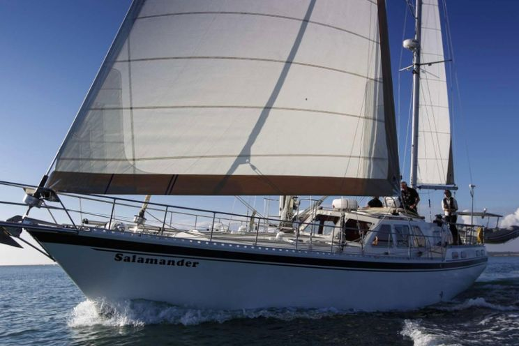 Charter Yacht SALAMANDER - Nauticat 58 - 2 Cabins - Grenada - Bequia - Leewards - Windwards - Martinique
