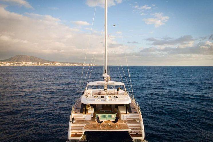 Charter Yacht SAMA - Sunreef 60 - 4 Cabins - Athens - Mykonos - Santorini