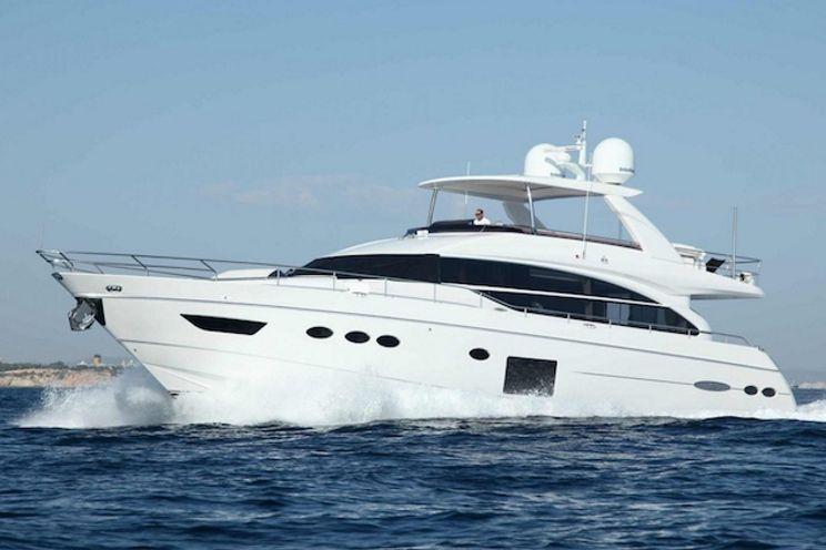 Charter Yacht SAMAKANDA - Princess 82 - 4 Cabins - Palma de Mallorca - Ibiza - Formentera
