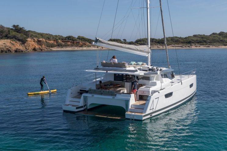 Charter Yacht Fountaine Pajot Saona 47 - 3 cabins(3 double)- 2019 - Annapolis