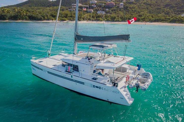 Charter Yacht TIME OUT - Lagoon 450 - 3 Cabins - St Thomas - St John - Tortola