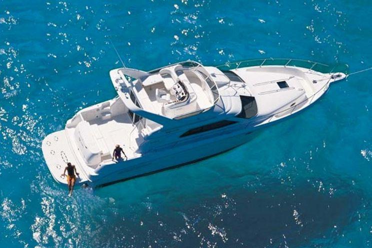Charter Yacht Sea Ray 45 - 3 Cabins - Cancun - Isla Mujeres - Playa Del Carmen