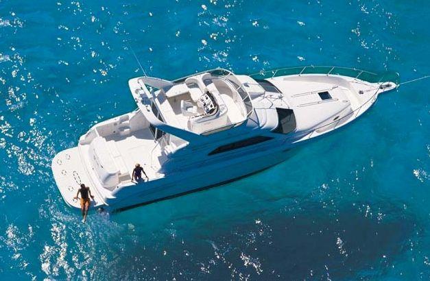 Sea Ray 45 - 3 Cabins - Cancun - Isla Mujeres - Playa Del Carmen