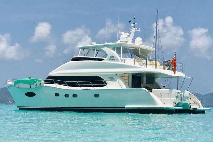 Charter Yacht SEA BOSS - Horizon 60 Power Cat - 3 Cabins - Nassau - Tortola - St Thomas