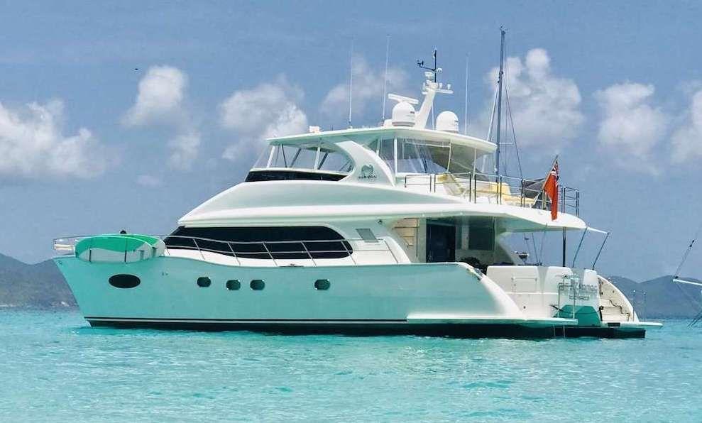 SEA BOSS - Horizon 60 Power Cat - 3 Cabins - Nassau - Tortola - St Thomas