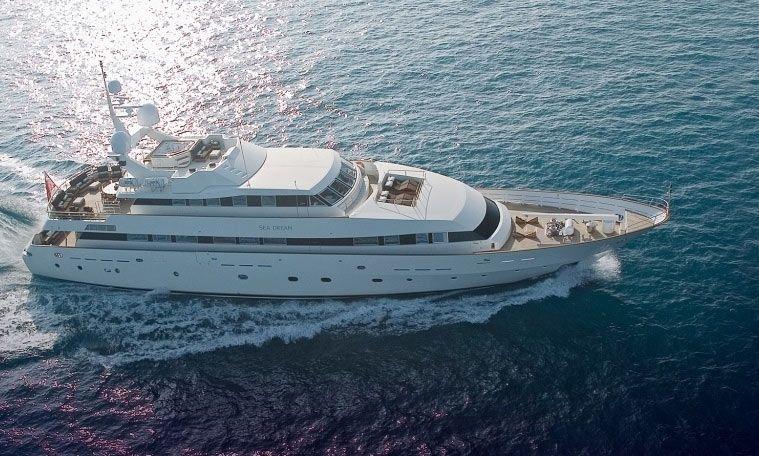 SEA DREAM - Siar Moschini 43m - 5 Cabins - Monaco - Cannes - Portofino - Naples - Porto Cervo