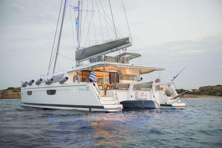 Charter Yacht SEA ENERGY V - Fountaine Pajot Saba 50 - 5 cabins - Athens - Paros - Mykonos