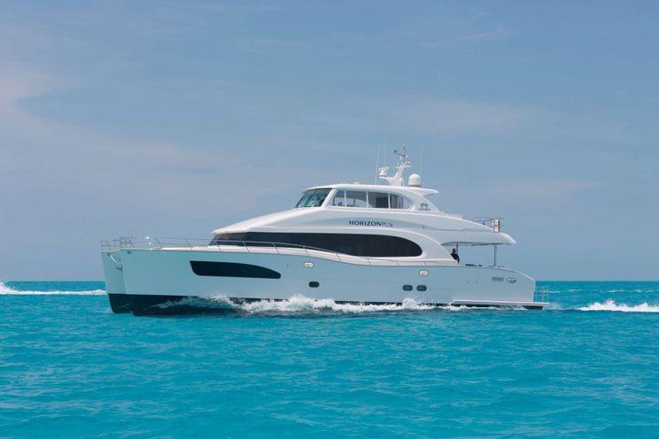 Charter Yacht SEAGLASS - Horizon 74 - 4 Cabins - St Thomas