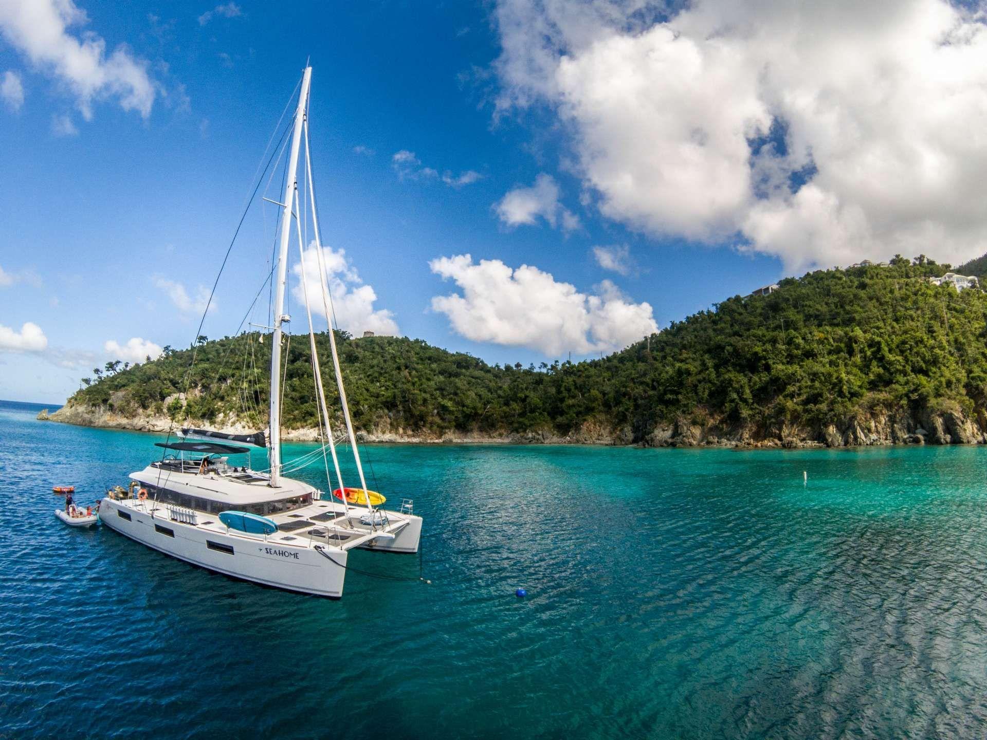 SEAHOME - Lagoon 620 - 5 Cabins - Tortola - St Thomas